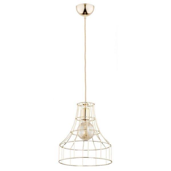 Druciana lampa kratka SKADI złota śr. 27,5cm