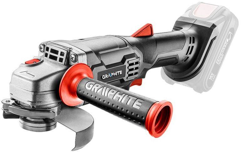 Szlifierka kątowa akumulatorowa 18V Li-lon tarcza 115x22,2mm Energy+ bez AKU 58G003