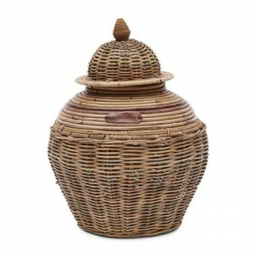Pojemnik Rustic Rattan Ginger Pot