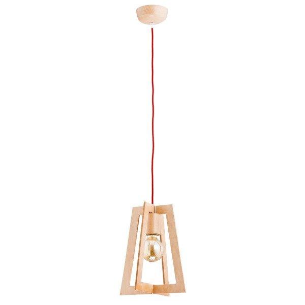 Drewniana lampa MENTO drewno śr. 25cm