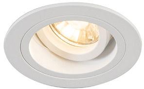 Oczko stropowe Chuck DL Round 92699 Zuma Line biała oprawa w stylu nowoczesnym
