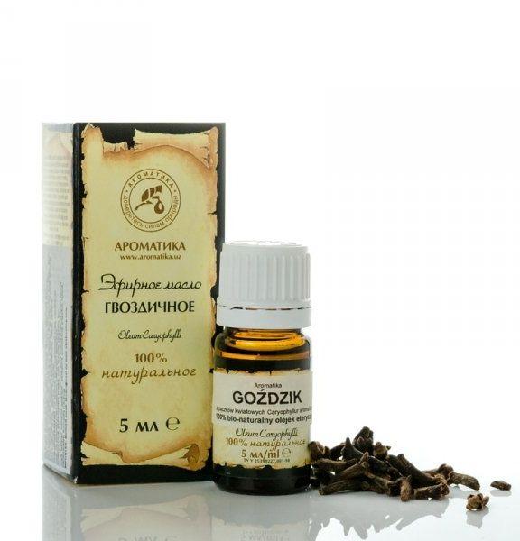 Olejek Goździkowy, 100% Naturalny, Aromatika