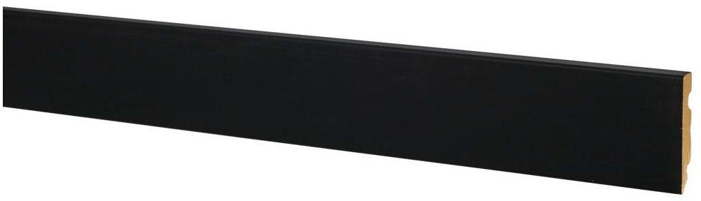 Listwa przypodłogowa mdf czarny mat FU84 80 mm Ergo