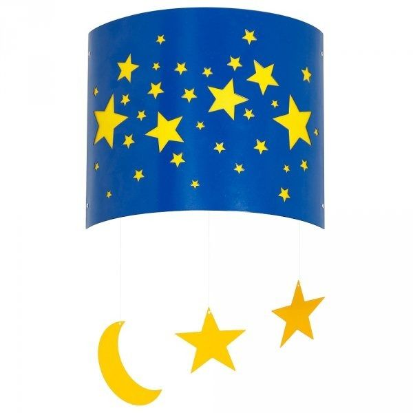 Kinkiet gwiazdki niebieski