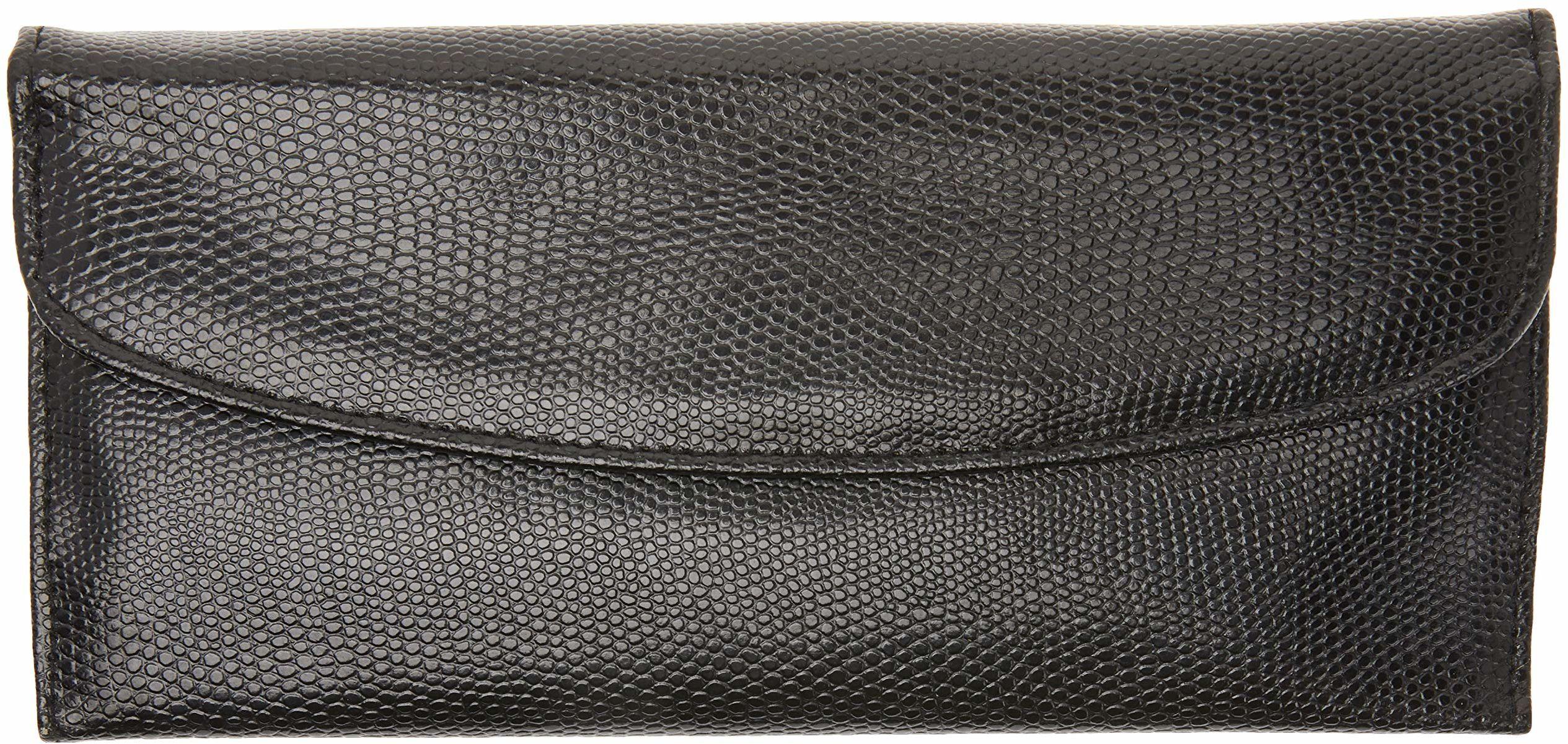 Better & Best 1451084 szkatułka na biżuterię portfel, duża, czarna