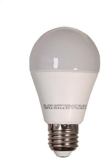 Żarówka LED 12W A60 E27 barwa ciepła 3000K EKZA727