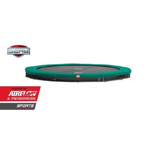 Trampolina ogrodowa Berg InGround Champion (Sport Series) 430 cm zielona