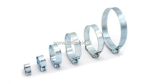 Opaska obejma przemysłowa GBS 140-148 W1 26 mm