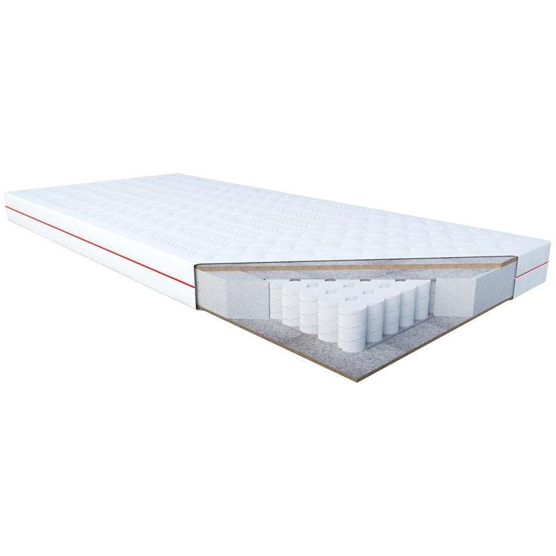 Materac EREBU JANPOL kieszeniowy : Rozmiar - 100x200, Pokrowce Janpol - Smart