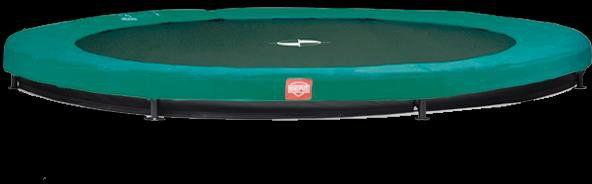 Trampolina BERG Grand Champion InGround 350 cm x 250 cm zielona