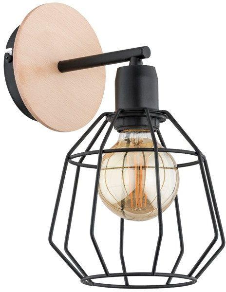 Lampa ścienna Basto śr. 21cm w stylu nowoczesnym