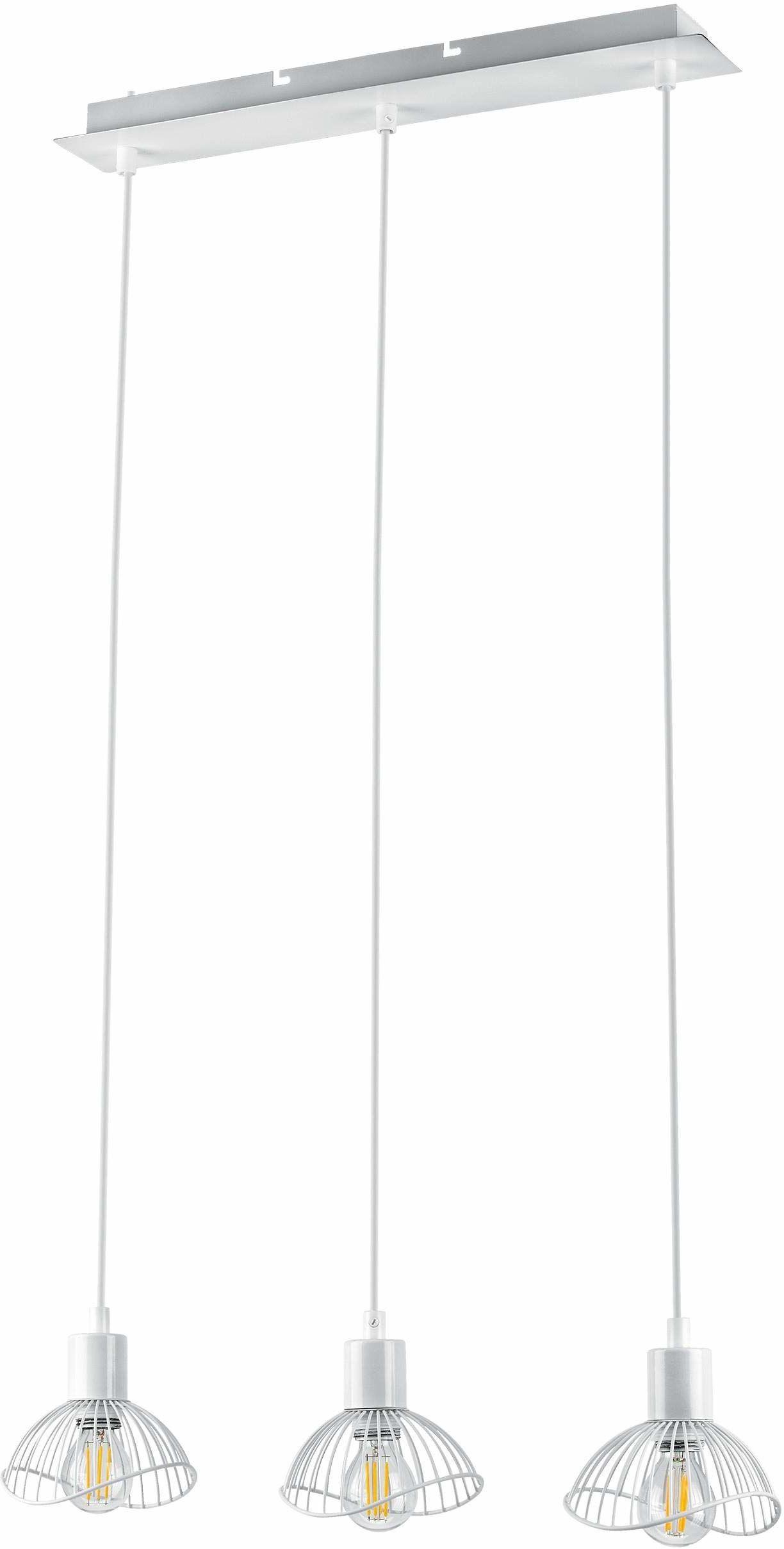 Activejet Listwa Wisząca Aje-Holly 9 White 3Xe14 ,Biały