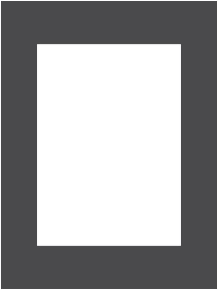 Passe-partout 172 czarne 30 x 40 cm
