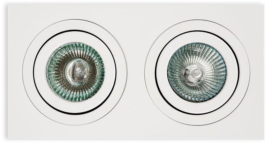 Oprawa halogenowa Fasto II Bianco Orlicki Design biała oprawa sufitowa w nowoczesnym stylu