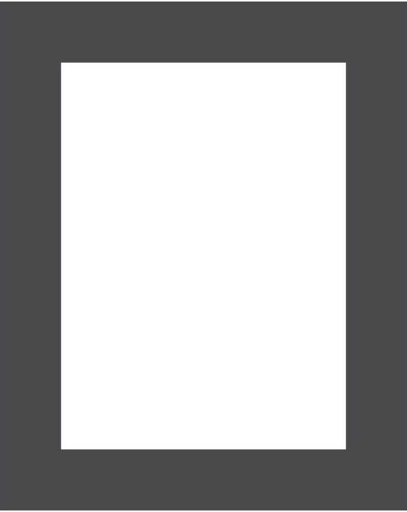Passe-partout 172 czarne 40 x 50 cm