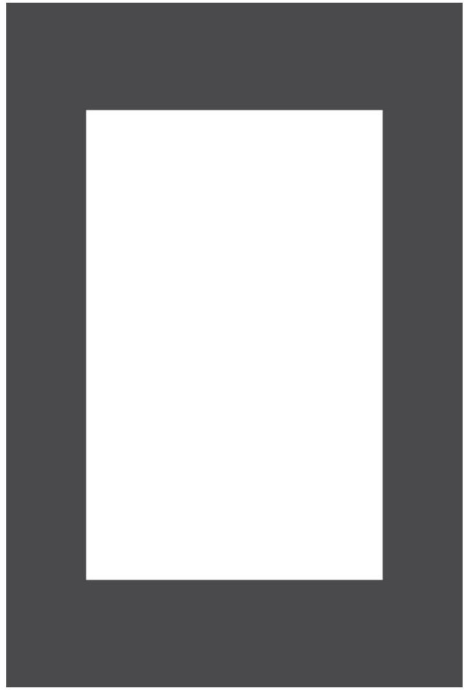 Passe-partout 172 czarne 10 x 15 cm