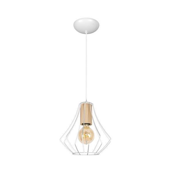 Lampa wisząca WILL WHITE 1xE27 MLP4179