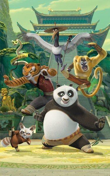 Tapeta fototapeta kung fu panda