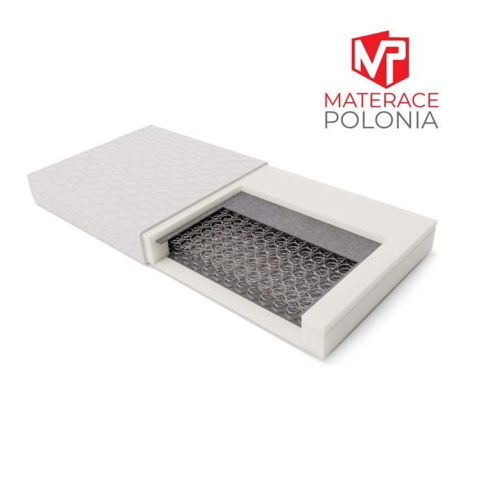 materac bonellowy ARYSTOKRATA MateracePolonia 140x200 H2 + 10 lat gwarancji