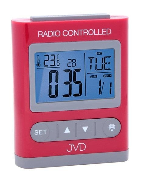 Budzik JVD RB31.2 Termometr, 5 alarmów