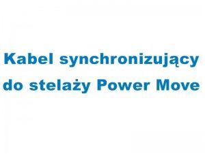 Kabel synchronizujący do stelaża Power Move Najlepsze okazje na BLACK WEEK - tel. 503-383-380