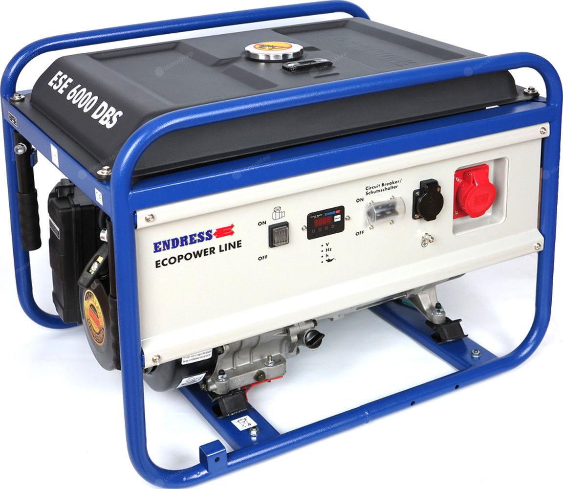 Agregat prądotwórczy Endress ESE 6000 DBS Ecopower z zestawem kół