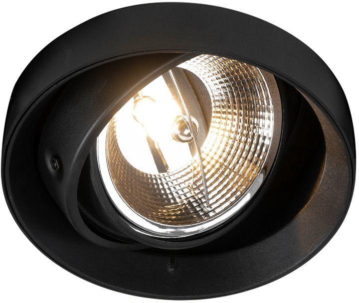 Spot Oneon DL Round 111-1 ARGU10-045 Zuma Line nowoczesna oprawa w kolorze czarnym