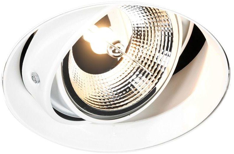 Spot Oneon DL Round 111-1 ARGU10-044 Zuma Line nowoczesna oprawa w kolorze białym