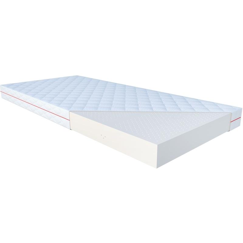 Materac ATENA JANPOL lateksowy : Rozmiar - 80x200, Pokrowce Janpol - Grey