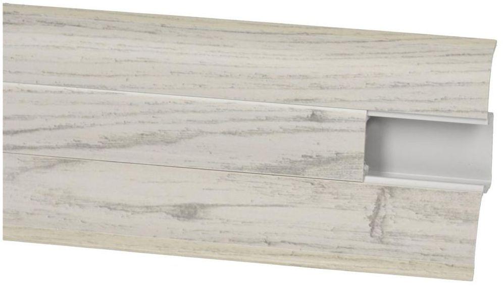 Listwa przypodłogowa pcv Dąb Chillout Perfecta 60 mm Korner