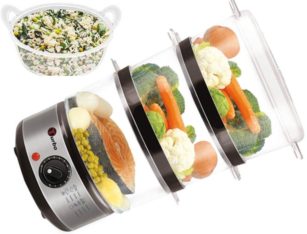 Tv1200w Parowar  metalowy miska na ryż TURBO