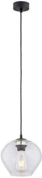 Lampa wisząca Kalimera 4041 Argon nowoczesna oprawa w kolorze czarnym