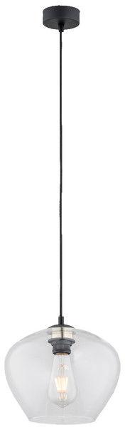 Lampa wisząca Kalimera 4043 Argon nowoczesna oprawa w kolorze czarnym