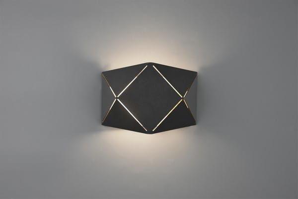 Kinkiet LED Zandor czarny 223510132 Trio // Rabaty w koszyku i darmowa dostawa od 299zł !
