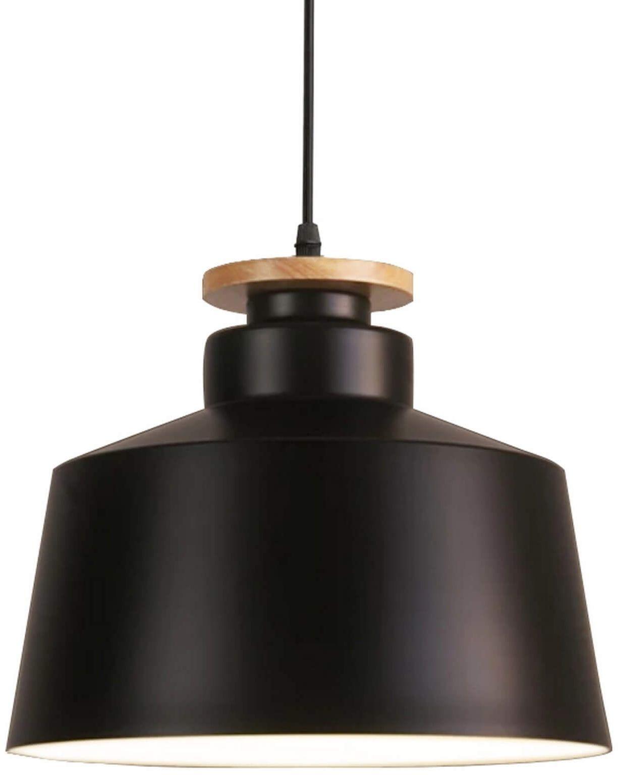 NOWOCZESNA LAMPA WISZĄCA CZARNA LEVANTI D30