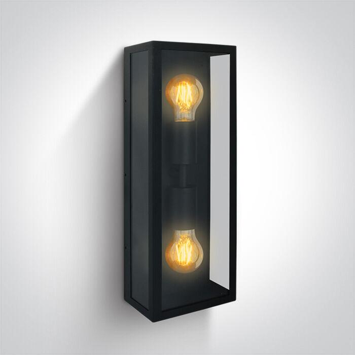 Kinkiet zewnętrzny Gabbia 2A 67406B/B - ONE Light