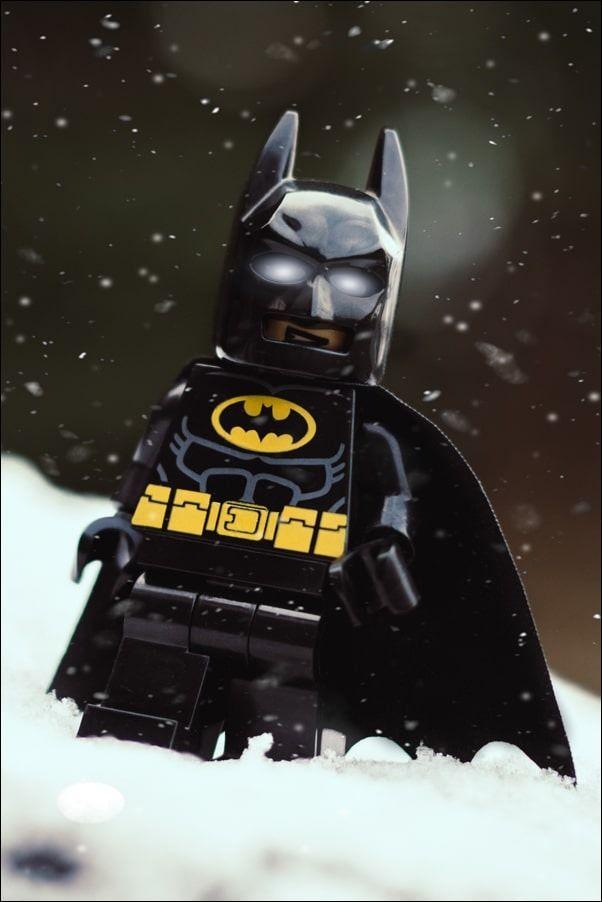 Lego batman - plakat wymiar do wyboru: 59,4x84,1 cm