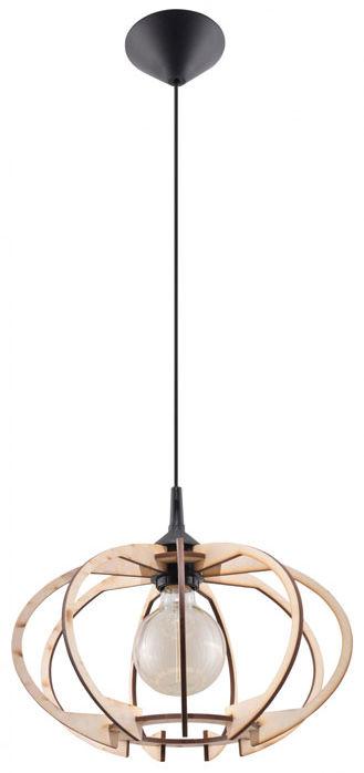 Drewniana lampa wisząca skandynawska - EX518-Mandelins