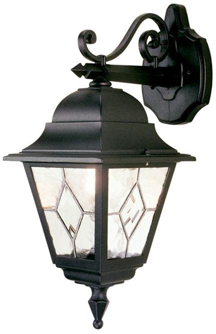 Kinkiet zewnętrzny Norfolk NR2 Elstead Lighting czarna oprawa w klasycznym stylu