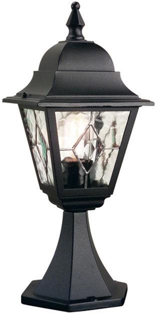 Lampa stojąca zewnętrzna Norfolk NR3 Elstead Lighting klasyczna oprawa w kolorze czarnym