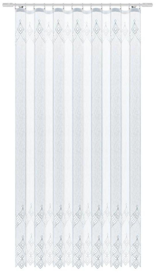 Firana na taśmie Izex 200 x 250 cm biała