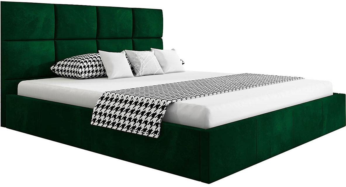 Podwójne łóżko ze schowkiem 160x200 Nikos 3X - 48 kolorów