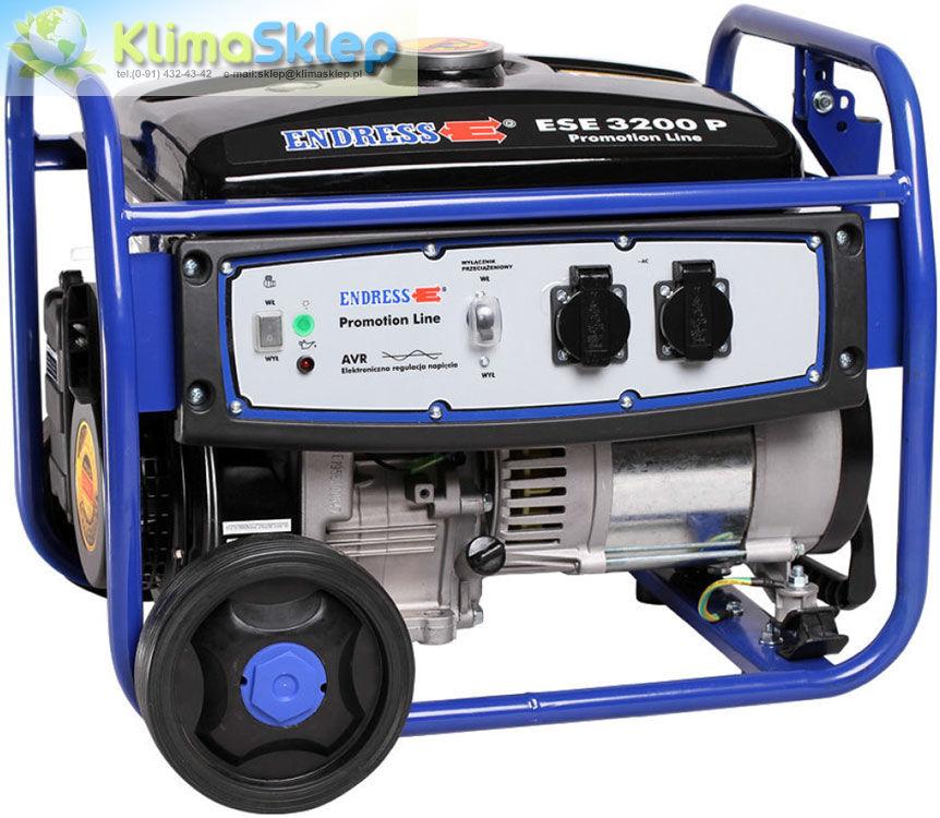 Agregat prądotwórczy Endress ESE 3200 P Ecopower z zestawem kół