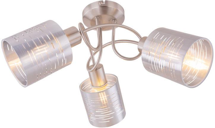 Globo MURCIA 15343-3D plafon lampa sufitowa nikiel mat 3xE14 15W 40cm