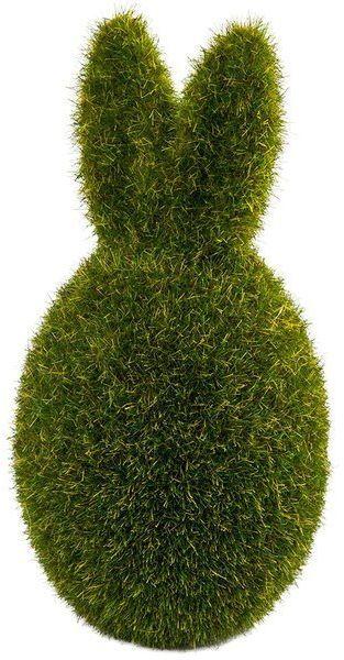 Jajko z uszami flokowane zielone 13cm 1 sztuka FG63-01