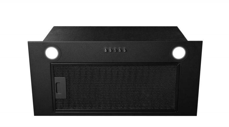 Okap podszafkowy Aris Eco Black Matt 59,5 cm