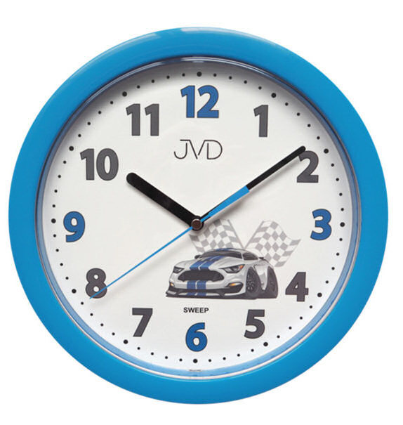 Zegar ścienny JVD HP612.D5 Cichy mechanizm