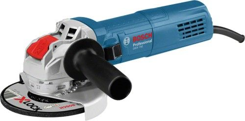 Bosch GWX 750-115 Szlifierka kątowa z systemem X-LOCK 750W