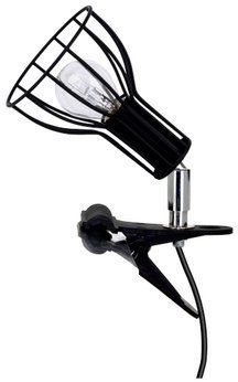 Lampa stołowa MEGAN CLIPS z klamrą Metalowa kolor czarny chrom, 2743104K