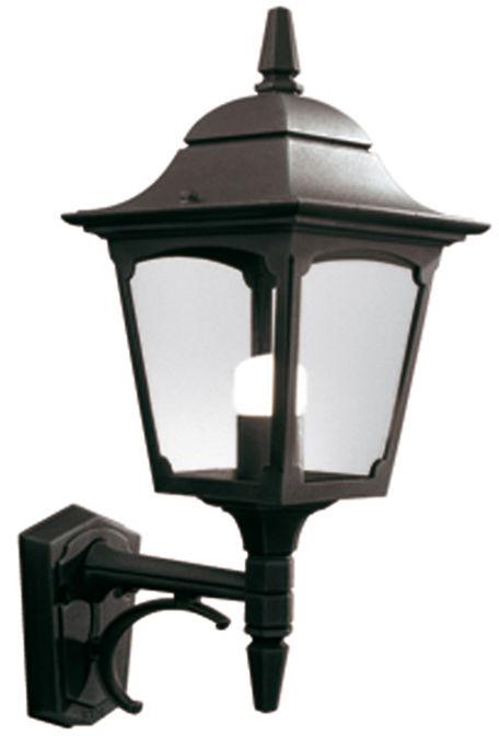 Kinkiet zewnętrzny Chapel CP1 BLK Elstead Lighting klasyczna oprawa w kolorze czarnym